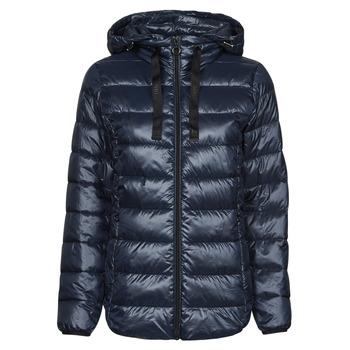 Textiel Dames Dons gevoerde jassen Esprit PER LL F TAP JT Blauw