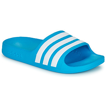 Schoenen Kinderen Slippers adidas Performance ADILETTE AQUA K Blauw / Wit