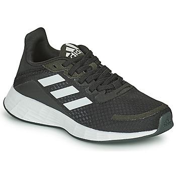 Schoenen Kinderen Running / trail adidas Performance DURAMO SL K Zwart / Wit