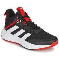 Schoenen Kinderen Basketbal adidas Performance OWNTHEGAME 2.0 K Zwart / Rood