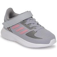 Schoenen Meisjes Running / trail adidas Performance RUNFALCON 2.0 I Grijs / Roze