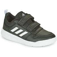 Schoenen Kinderen Lage sneakers adidas Performance TENSAUR C Zwart / Wit