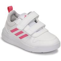 Schoenen Meisjes Lage sneakers adidas Performance TENSAUR C Wit / Roze