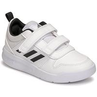 Schoenen Kinderen Lage sneakers adidas Performance TENSAUR C Wit / Zwart