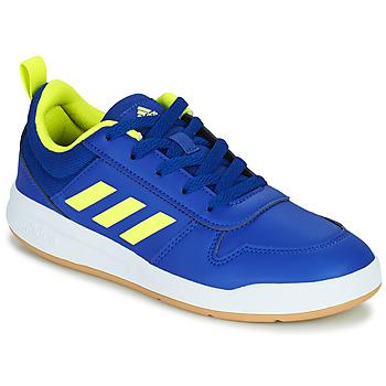 Schoenen Kinderen Lage sneakers adidas Performance TENSAUR K Blauw / Fluo
