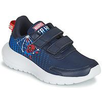 Schoenen Jongens Running / trail adidas Performance TENSAUR RUN C Blauw