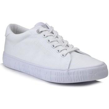 Schoenen Dames Lage sneakers Big Star HH274216 Blanc