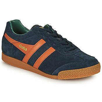 Schoenen Heren Lage sneakers Gola HARRIER Marine / Orange