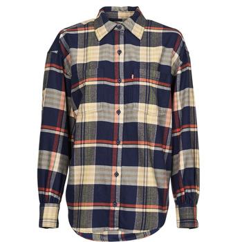 Textiel Dames Overhemden Levi's REMI UTILITY SHIRT Multicolour