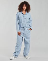Textiel Dames Jumpsuites / Tuinbroeken Levi's ROOMY JUMPSUIT Blauw