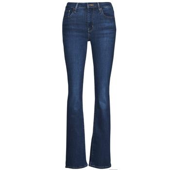 Textiel Dames Bootcut jeans Levi's 726 HIGH RISE BOOTCUT Blauw
