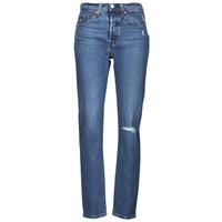 Textiel Dames Boyfriend jeans Levi's 501 CROP Blauw