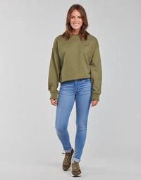 Textiel Dames Skinny Jeans Levi's 711 SKINNY Blauw