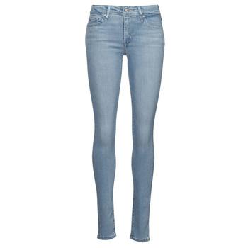 Textiel Dames Skinny Jeans Levi's 712 SKINNY Blauw