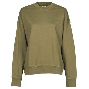 Textiel Dames Sweaters / Sweatshirts Levi's WFH SWEATSHIRT Kaki