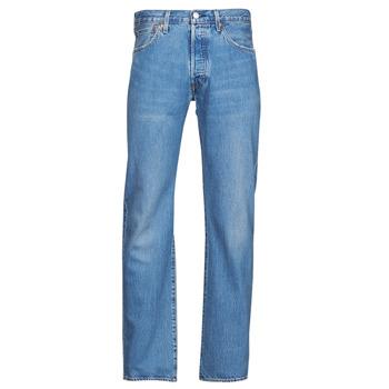 Textiel Heren Straight jeans Levi's 501 LEVI'S ORIGINAL Blauw
