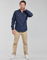 Textiel Heren 5 zakken broeken Levi's 512 SLIM Beige