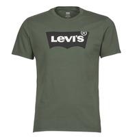 Textiel Heren T-shirts korte mouwen Levi's HOUSEMARK GRAPHIC TEE Groen