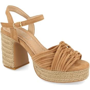 Schoenen Dames Sandalen / Open schoenen H&d YZ19-299 Marron