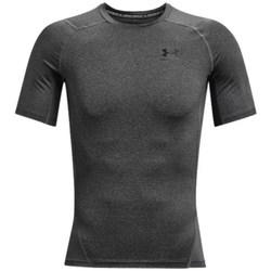 Textiel Heren T-shirts korte mouwen Under Armour Heatgear Armour Noir