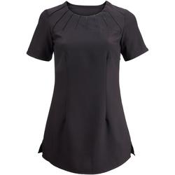 Textiel Dames T-shirts korte mouwen Alexandra Satin Zwart