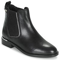 Schoenen Dames Laarzen Les Tropéziennes par M Belarbi MYLA Zwart / Zilver