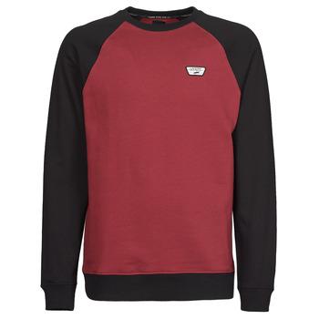 Textiel Heren Sweaters / Sweatshirts Vans RUTLAND III Bordeaux / Zwart