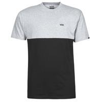 Textiel Heren T-shirts korte mouwen Vans COLORBLOCK TEE Grijs / Zwart