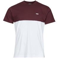 Textiel Heren T-shirts korte mouwen Vans COLORBLOCK TEE Wit