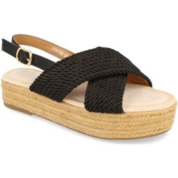 Schoenen Dames Sandalen / Open schoenen H&d YZ19-155 Negro
