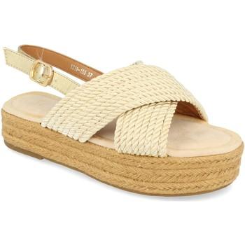 Schoenen Dames Sandalen / Open schoenen H&d YZ19-155 Oro