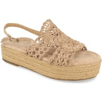 Schoenen Dames Sandalen / Open schoenen H&d YZ19-163 Beige