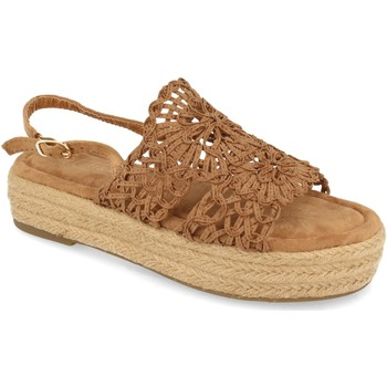 Schoenen Dames Sandalen / Open schoenen H&d YZ19-163 Marron