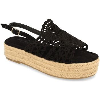 Schoenen Dames Sandalen / Open schoenen H&d YZ19-163 Negro