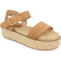 Schoenen Dames Sandalen / Open schoenen H&d YZ19-200 Marron