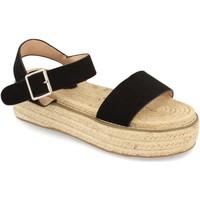 Schoenen Dames Sandalen / Open schoenen H&d YZ19-200 Negro