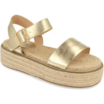 Schoenen Dames Sandalen / Open schoenen H&d YZ19-200 Oro