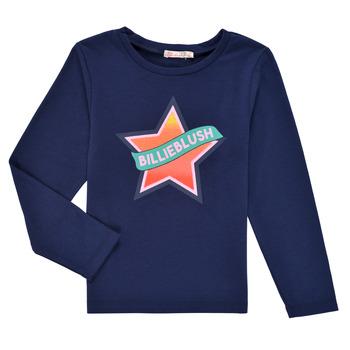 Textiel Meisjes T-shirts met lange mouwen Billieblush DEKOU Marine