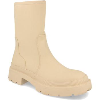 Schoenen Dames Laarzen H&d YZ19-338 Beige
