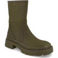 Schoenen Dames Laarzen H&d YZ19-338 Verde