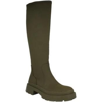 Schoenen Dames Regenlaarzen H&d YZ19-339 Verde