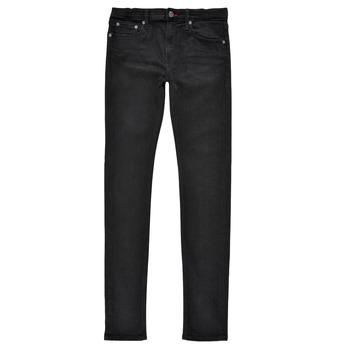 Textiel Jongens Skinny Jeans Teddy Smith FLASH SKINNY Zwart