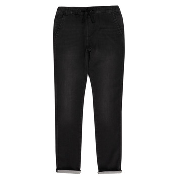 Textiel Jongens 5 zakken broeken Teddy Smith JOGGER SWEAT Zwart