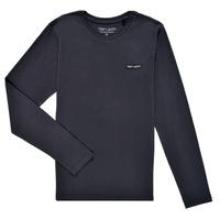 Textiel Jongens T-shirts met lange mouwen Teddy Smith T-NARK ML Marine