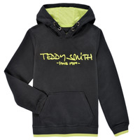 Textiel Jongens Sweaters / Sweatshirts Teddy Smith SICLASS HOODY Zwart