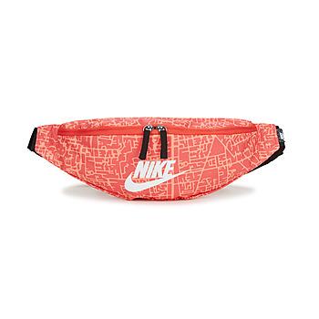 Tassen Dames Heuptassen Nike NK HERITAGE WSTPCK FA21 AOP2 Roze / Zwart / Wit