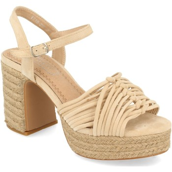 Schoenen Dames Sandalen / Open schoenen H&d YZ19-299 Beige