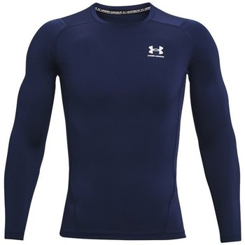 Textiel Heren T-shirts met lange mouwen Under Armour Heatgear Armour Bleu marine