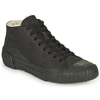 Schoenen Heren Hoge sneakers Kenzo TIGER CREST SHEARLING SNEAKERS Zwart