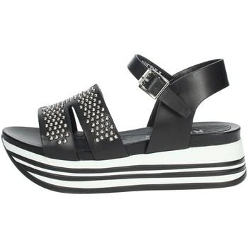 Schoenen Dames Sandalen / Open schoenen Keys K-5043 Black